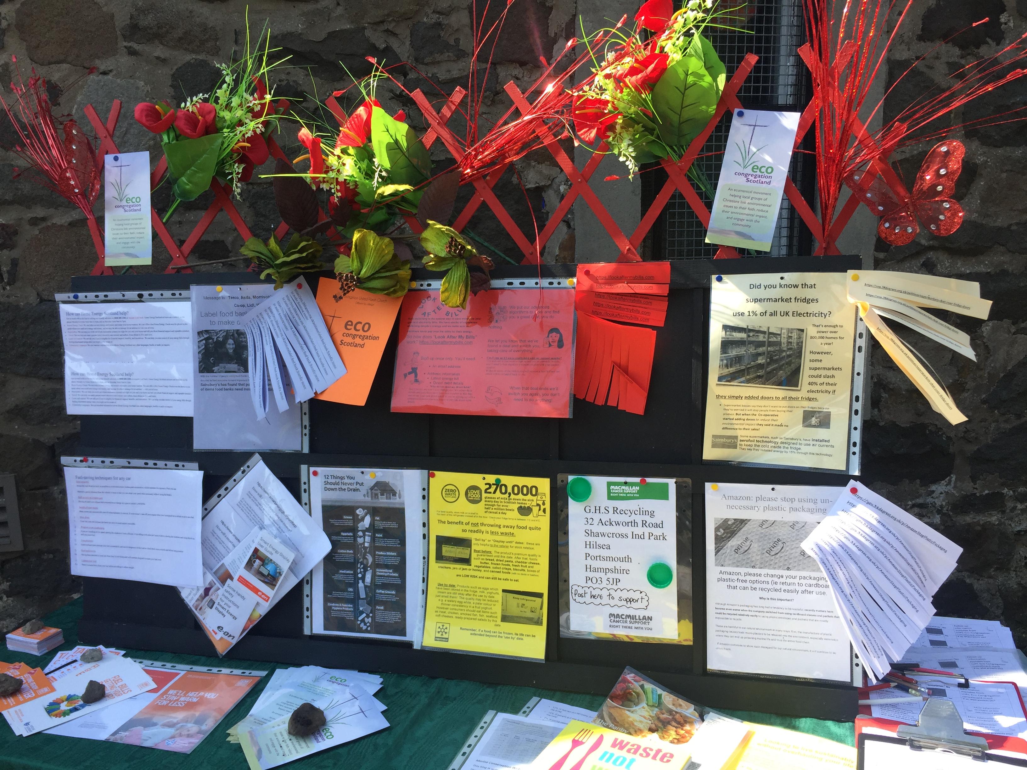 Eco Awareness Stand